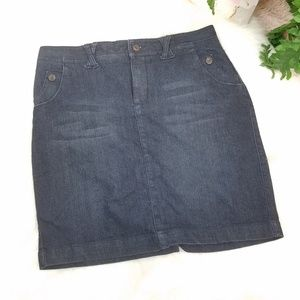 SONOMA JEAN SKIRT PENCIL SIZE 10